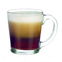 Amazon.com: Libbey 13-1/2-Ounce Flare Glass Coffee Mugs, Box of 12, Clear: Kitchen & Dining