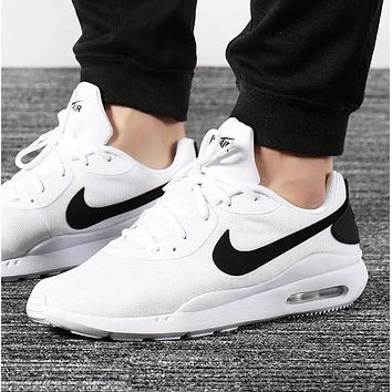 NIKE WMNS AIR MAX OKETO New fashion hook print couple running shoes White