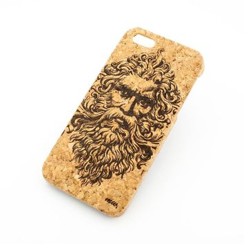 Cork Case Snap On Cover - ZEUS GREEK MYTHOLOGY