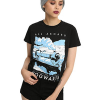 Harry Potter All Aboard Hogwarts Express Girls T-Shirt