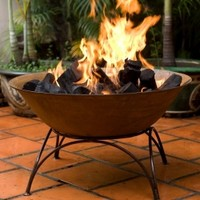 African Cast Iron Fire Pit or Planter Bowl | The Block Shop - Channel 9
