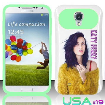 USA Design #19 - Samsung Galaxy S4 Glow in Dark Case # Katy Perry @ Cover for Galaxy S4 i9500 Case