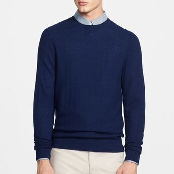 Men's A.P.C. Chevron Texture Wool Sweater