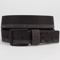 Fox Solstice Belt Black/Grey  In Sizes