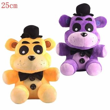 25cm   at freddy Foxy and teddy Fazbear bear toy plush dolls stuffed animals plush fox toys