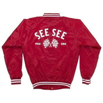 Flagger Jacket Red