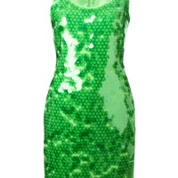 Moschino Cheap & Chic sequinned dress