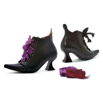 "Ellie Shoes IS-E-301-Abigail 3"" Heel Witch Shoe Sz 9"