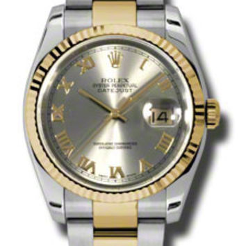 Rolex Datejust Mens Automatic Watch 116233GRO