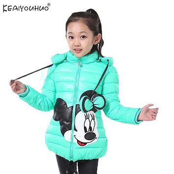 Cartoon Minnie Kids Cotton Clothing