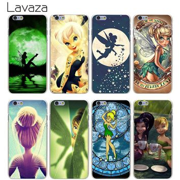 Lavaza Tinkerbell Hard Transparent Cover Case for iPhone X 10 8 7 6 6S Plus 5 5S SE 5C 4 4S