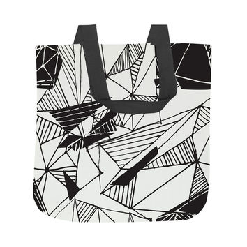 Hand Drawn Pattern Tote Bag