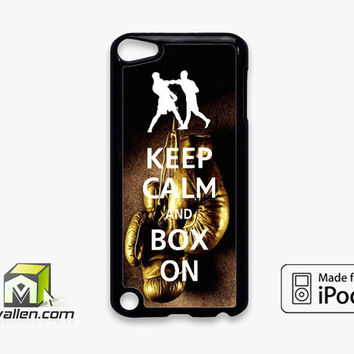 Keep Calm Wwe Boxing Gloves iPod Touch 5th Case Cover by Avallen
