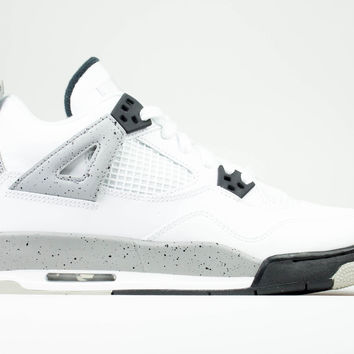Air Jordan Big Kid's 4 IV OG GS White Cement 2016 Release