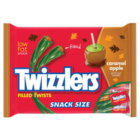 Twizzlers Caramel Apple Filled Licorice Twists: 20-Piece Bag