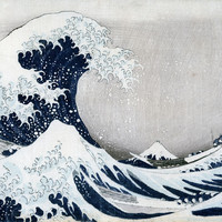 The Great Wave of Kanagawa- Fine Art Removable Wall Mural
