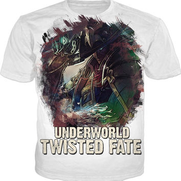 League of Legends UNDERWORLD TWISTED FATE