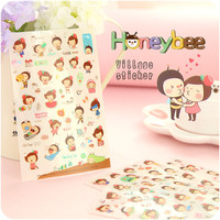 Decoration Girl Korean Stickers = 4877894596
