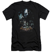 BATMAN AA/FIVE AGAINST ONE - S/S ADULT 30/1 - BLACK -