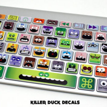 Little Monsters Macbook Keyboard Decal