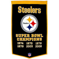 Pittsburgh Steelers NFL Dynasty Banner (24x36)