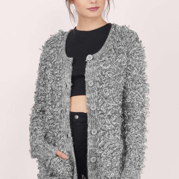 Ossie Loop Knit Cardigan