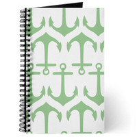Anchor Kids School Supplies Journal Accessories Notebook Mint