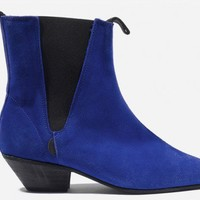 Underground Shop | Beatle Winklepickers Royal Blue Suede Boots,Shoes,Creepers,England,Winklepicker,Creepers