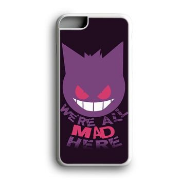 Awesome Black Friday Offer We're All Mad Here Gengar Pokemon iPhone Case | Samsung Case