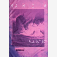 Fall Out Boy Mania Fabric Poster
