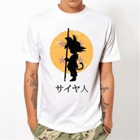 Casual Dragon Ball Summer Fashion Short Sleeve Hot Sale T-shirts [10775874115]