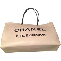 Cabas bag CHANEL White