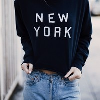 NANCY NEW YORK SWEATSHIRT