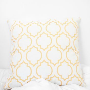 Moroccan Printed Pillow Case