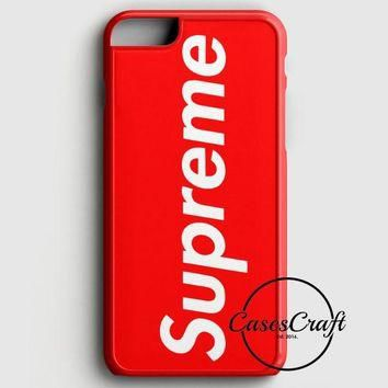 Supreme New York Clothing Skateboarding iPhone 6 Plus/6S Plus Case | casescraft