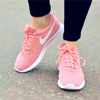 NIKE Women Men Running Sport Casual Shoes Sneakers mesh Pink