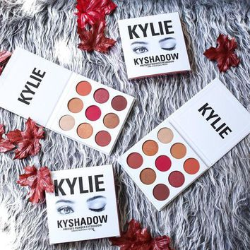 Day-First™ KYLIE COSMETICS (kylie Jenner cosmetics) The Burgundy Kyshadow Palette