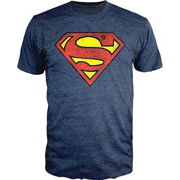 Superman Distressed Logo Shirt