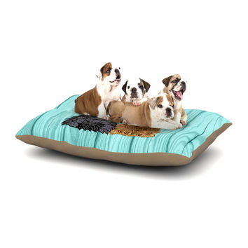 "Art Love Passion ""Daisy and Gatsby"" Abstract Puppies Dog Bed"