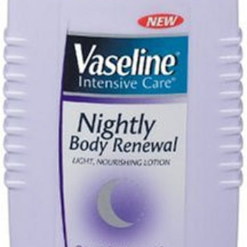 Vaseline Intensive Care Lotion, Nightly Body Renewal - 7.4oz