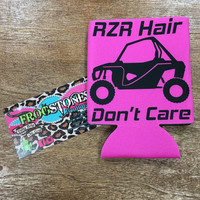 RZR hair dont care beverage container
