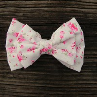 Little Lady Boutique  | Big Baby Rose Double Bow | Online Store Powered by Storenvy