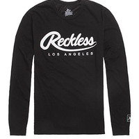 Young and Reckless Script Long Sleeve Tee at PacSun.com