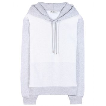 balenciaga - hooded sweatshirt