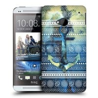 Head Case Designs Mayan Anchor Nebula Tribal Patterns Protective Snap-on Hard Back Case Cover for HTC One