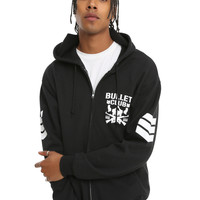 New Japan Pro-Wrestling Bullet Club Logo Hoodie