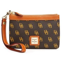 Dooney & Bourke Gretta Medium Signature Wristlet | macys.com
