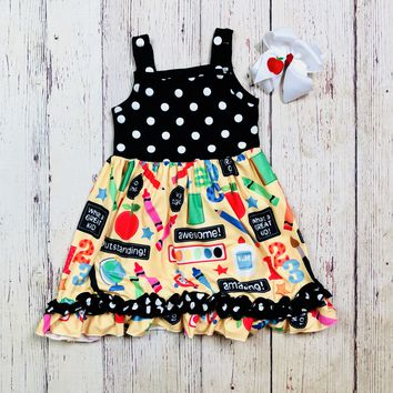 RTS Awesome Back to School Dress D5