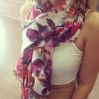 Floral Scarf from Papers & Peonies