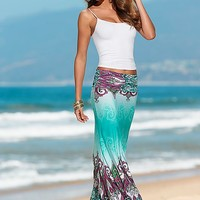 Cami, printed maxi skirt by VENUS